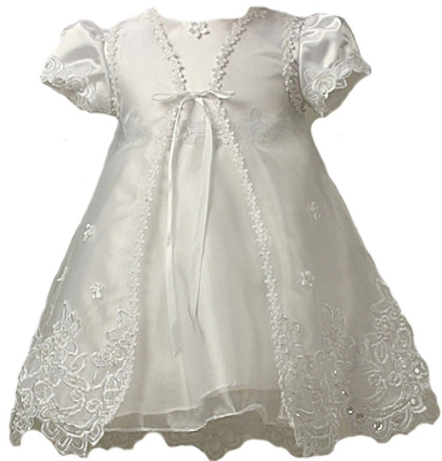Kid Collection Baby Girls Sheer Elegance Christening