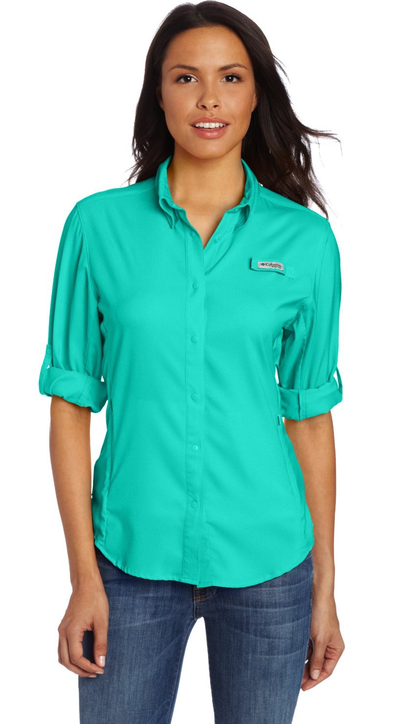 Columbia women 39 s tamiami ii long sleeve shirt Columbia womens fishing shirt