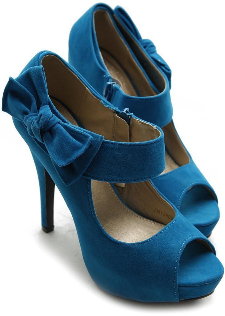 Ollio Women S Shoe Platform Open Toe High Heel Ribbon