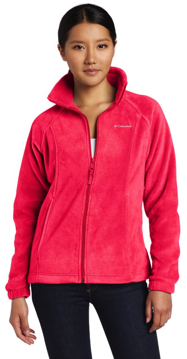 Columbia Women's Benton Springs Full Zip Fleece Jacket - Visuall.co