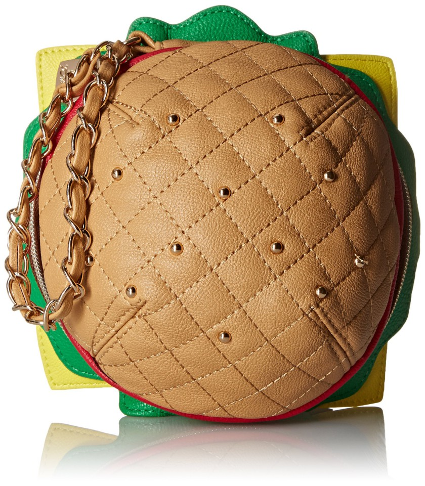 Betsey Johnson Kitch Nice Buns Burger Wristlet Visuall Co