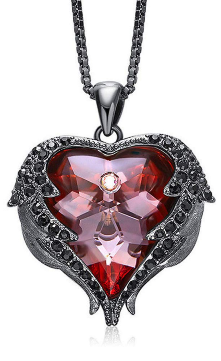 Newnove Heart Of Ocean Pendant Necklaces For Women Made
